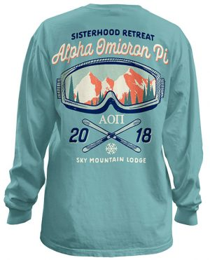Alpha Omicron Mountain Shirt