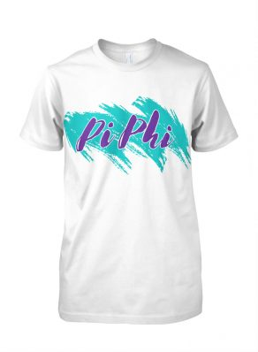 Pi Beta Phi Retro Shirt 90s