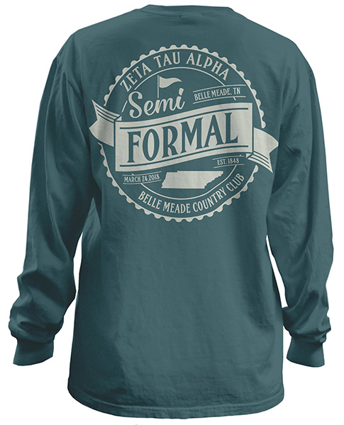 Zeta Tau Alpha Formal Shirt