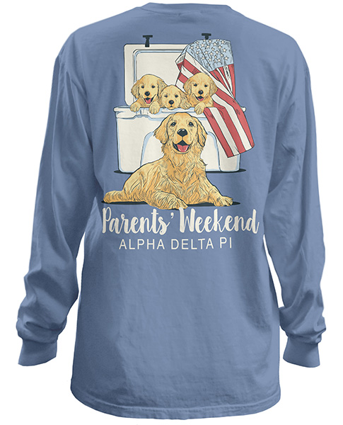 Alpha Delta Pi Parents Weekend Shirt