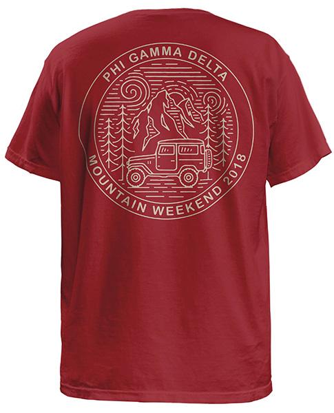 Fiji Mountain Weekend T-shirts