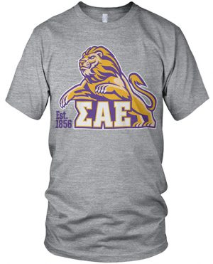 Sigma Alpha Epsilon Lion Shirt