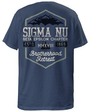 Sigma Nu Mountain Retreat Shirt