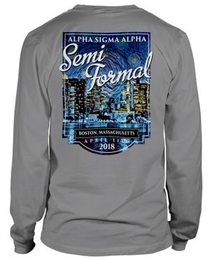 Alpha Sigma Alpha Formal T-shirt
