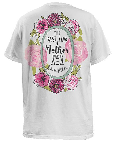 AZD Floral Mother Daughter Shirt