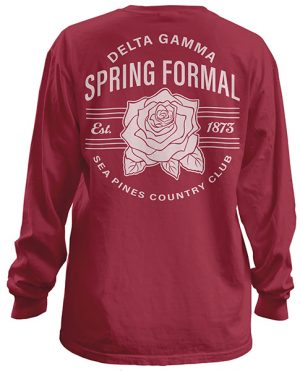 Delta Gamma Rose Formal Shirt