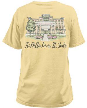 Tri Delta St Jude T-shirt