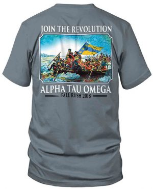 Alpha Tau Omega Rush Shirt Washington