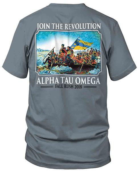Alpha Tau Omega Rush Shirt Washington