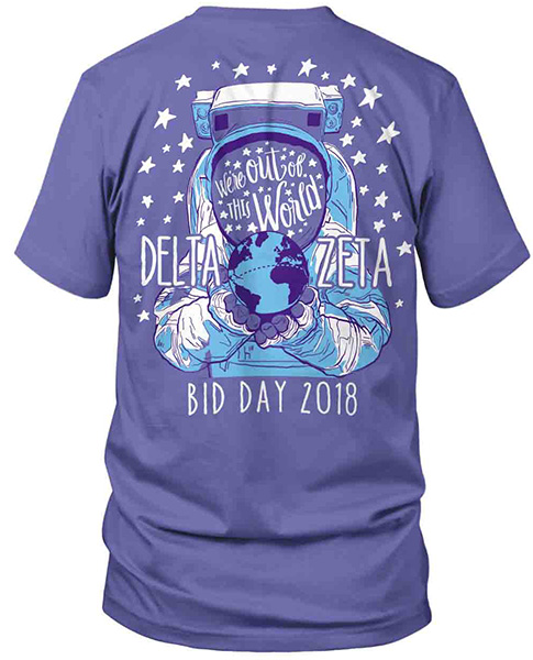 Delta Zeta Out of the World Shirt