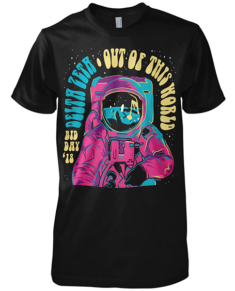 Out of this World Bid Day Shirt
