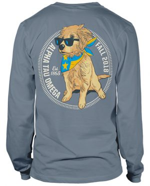 ATO Rush Shirt Golden Puppy