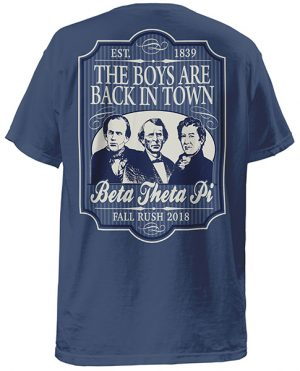 Beta Theta Pi Boys are Back Shirt