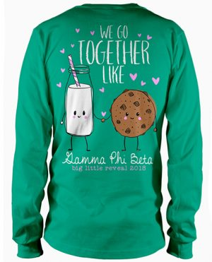 Bid Day T-shirt Cookies