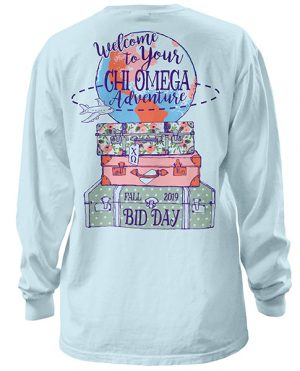 Chi Omega Bid Day Shirt