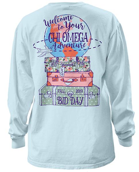 Chi Omega Bid Day Shirt