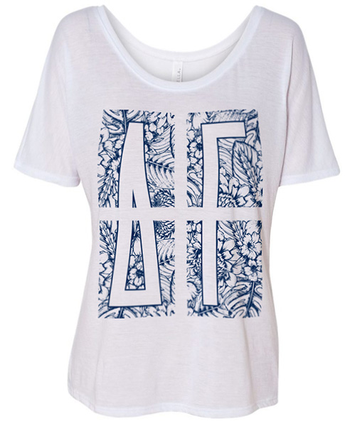 Delta Gamma Shirts Leaves