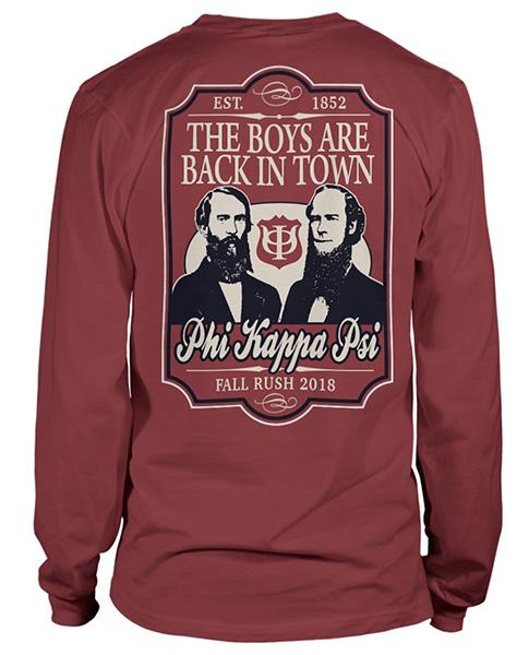 Phi Kappa Psi Rush T-shirt