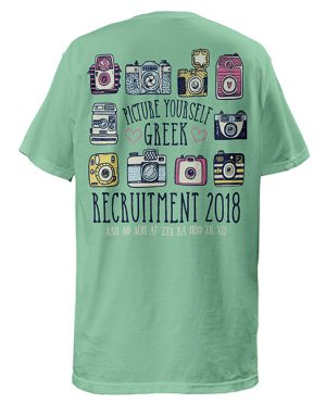 Picture Yourself Greek Recruitment T-shirt