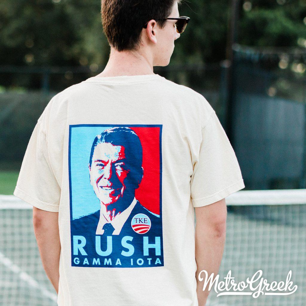 Tau Kappa Epsilon Reagan Rush Shirt