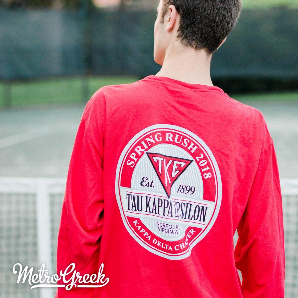 Teke Rush Shirt Circle Label