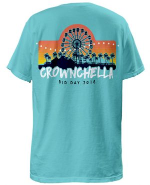 Zeta Bid Day Shirt Coachella