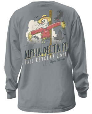 Alpha Delta Pi Fall Retreat Shirt