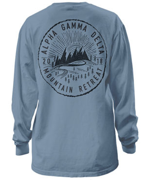 Alpha Gamma Delta Mountain Retreat Shirt