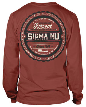 Sigma Nu Brotherhood Retreat Shirt