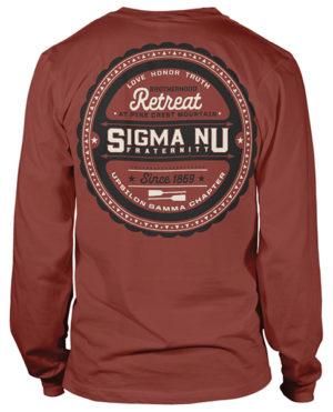 Sigma Nu Brotherhood Retreat Shirt