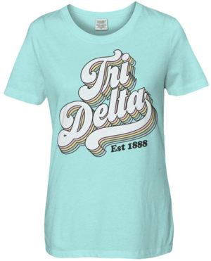 Tri Delta Seventies T-shirt