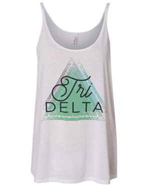 Tri Delta Triangle Tank Top