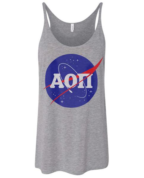 Alpha Omicron Pi NASA Shirt