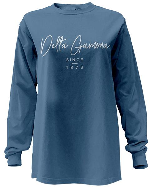 Delta Gamma Script Shirt