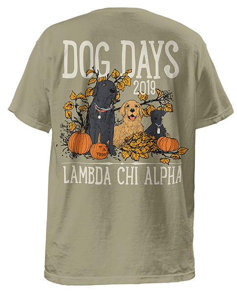 Fraternity Dog Days Shirt