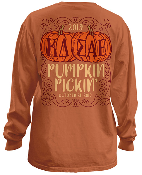 Kappa Delta Pumpkin T-Shirt