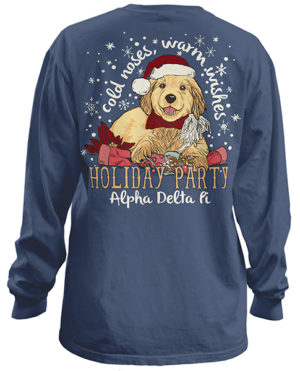 AOPi Christmas Holiday Shirt