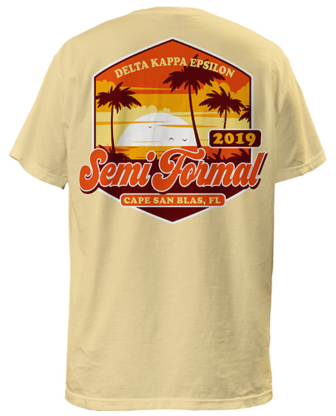 DKE Beach Formal T-shirt