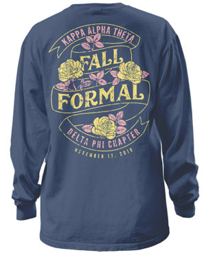 Theta Fall Formal Shirt