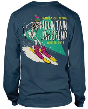 Alpha Tau Omega Ski T-shirt