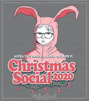ATO Christmas Party Shirt Bunny Suit