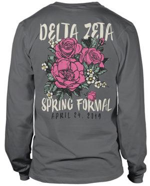 Delta Zeta Spring Formal T-shirt