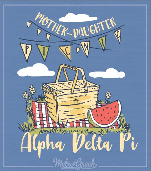 Alpha Delta Pi Mother Daughter Shirts