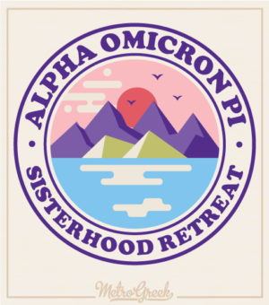 Alpha Omicron Pi Sisterhood Shirts