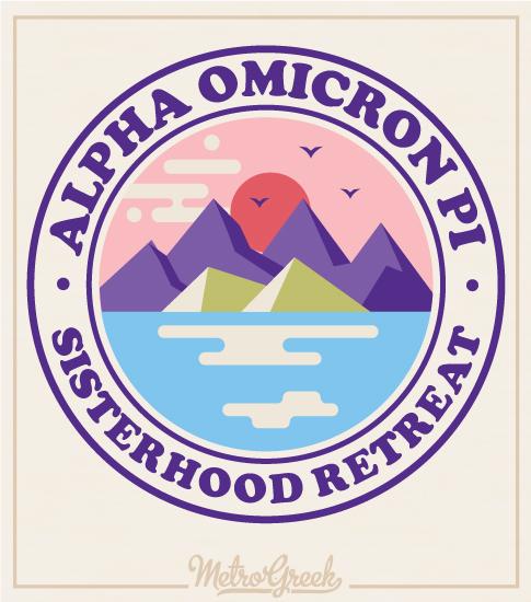 Alpha Omicron Pi Sisterhood Shirts