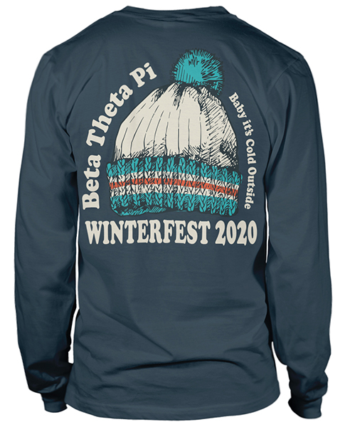Beta Theta Pi Winterfest T-shirt