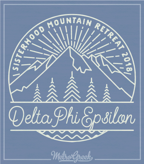 Deepher Mountain Retreat T-shirt