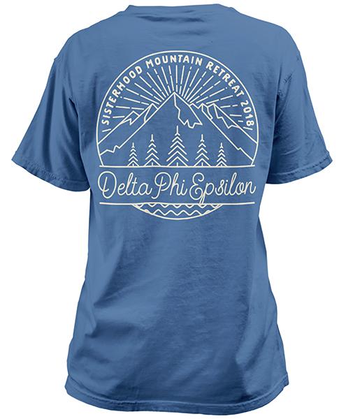 Deepher Mountain Retraet T-shirt