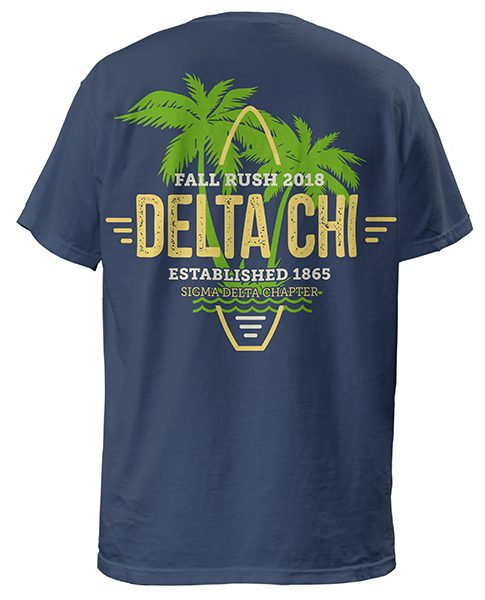 Delta Chi Surf Rush Shirt