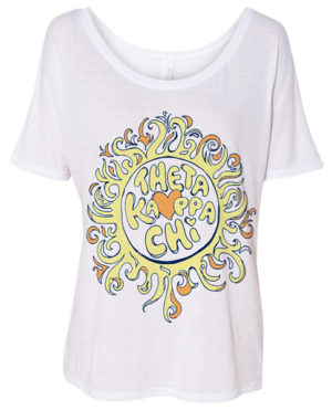 Hippie Sun Bid Day Shirt